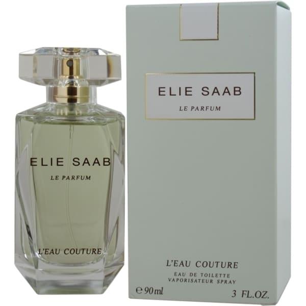 Elie Saab Elie Saab Le Parfum Leau Couture Womens 3-ounce Eau de Toilette Spray