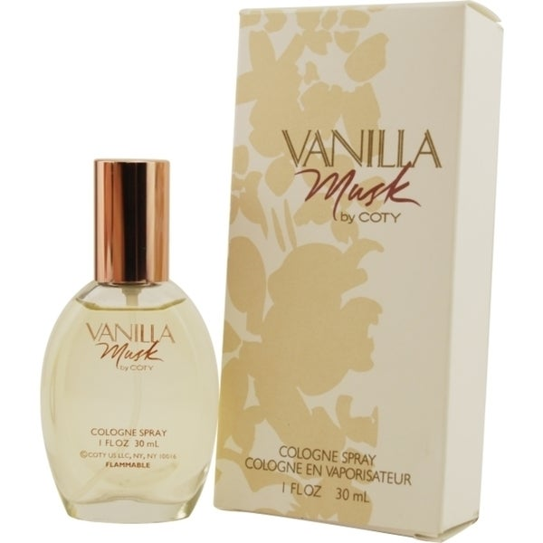 Coty Vanilla Musk Womens 1-ounce Cologne Spray