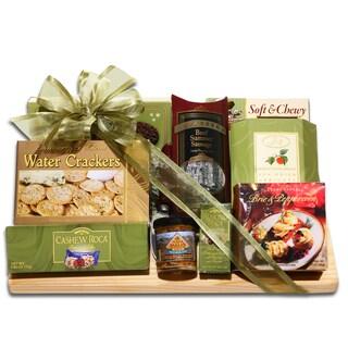 Gourmet Cutting Board Gift Basket