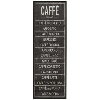 'Caffe' Framed Giclee Print Wall Art