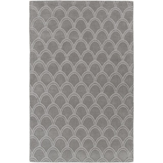 Hand-Loomed Harthrope Solid Wool Rug (3'3 x 5'3)