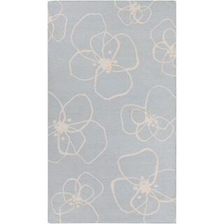 Lotta Jansdotter : Hand-Woven Donnie Floral Wool Rug (3'3 x 5'3)