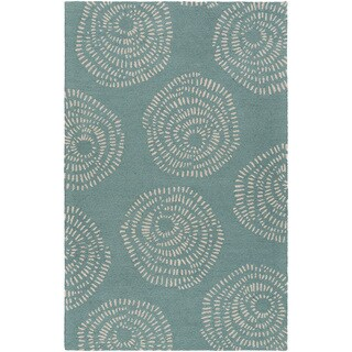 Lotta Jansdotter : Hand-Tufted Elliot Floral Wool Rug (3'3 x 5'3)