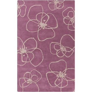 Lotta Jansdotter : Hand-Tufted Fabian Floral Wool Rug (5' x 8')