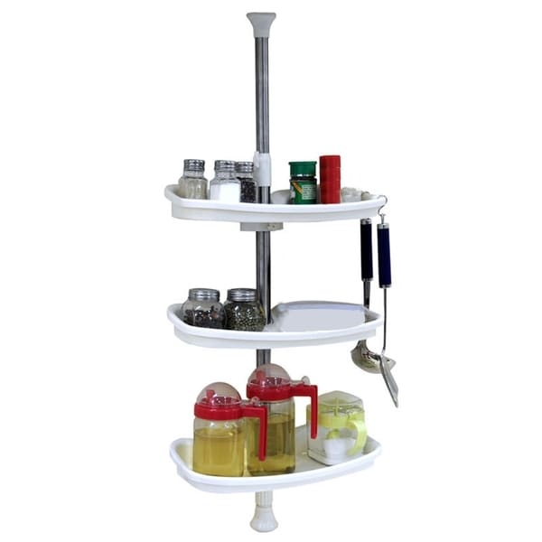 Above Edge 3-shelf Adjustable Spice Rack