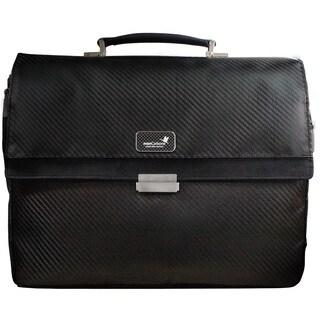 monCarbone Carbon Fiber Classic 15-inch Laptop Briefcase