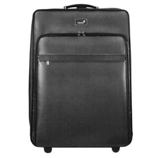 monCarbone Carbon Fiber 24-inch Expandable Upright Suiter Suitcase