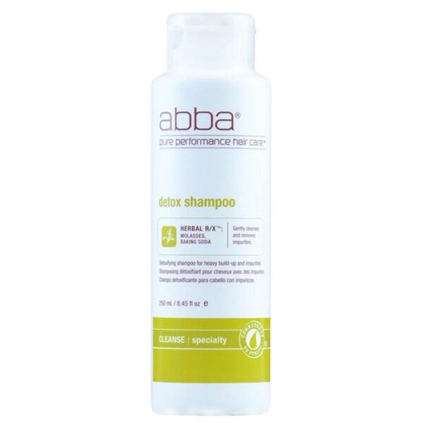 Abba 8-ounce Detox Shampoo