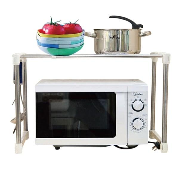 Countertop Microwave Rack : Above Edge Microwave Storage Rack - 17092069 - Overstock.com Shopping ...