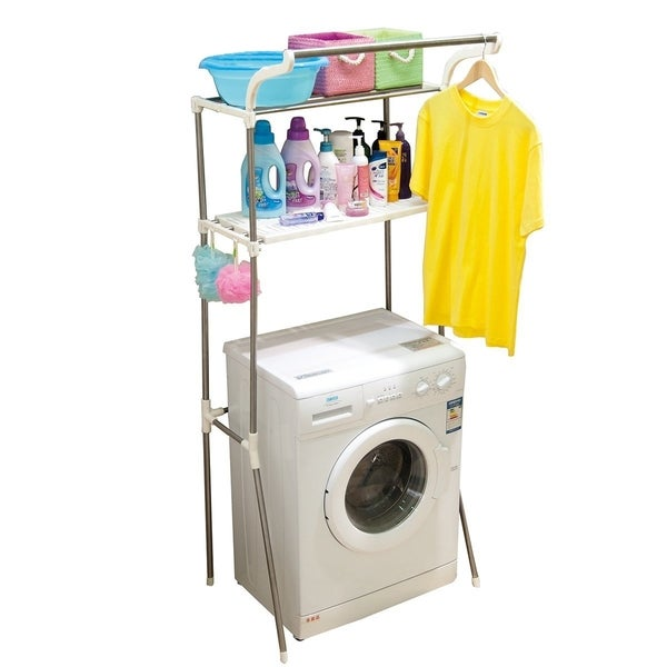 Above Edge Washing Machine Storage Rack