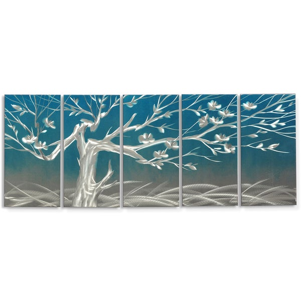 Metal Artscape 'Winter Morning' Metal Wall Art 14965364