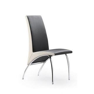 Modrest Y01 Black & White Chair (Set of 2)