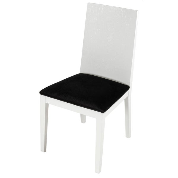 Modrest A&X Bridget White Dining Chair (Set of 2)