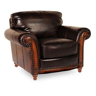 Lazzaro Alexus Leather Chair