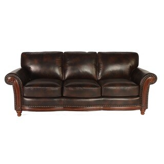 Lazzaro Alexus Leather Sofa