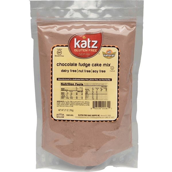 Katz Gluten-free Chocolate Fudge Cake Mix (2 Pack)