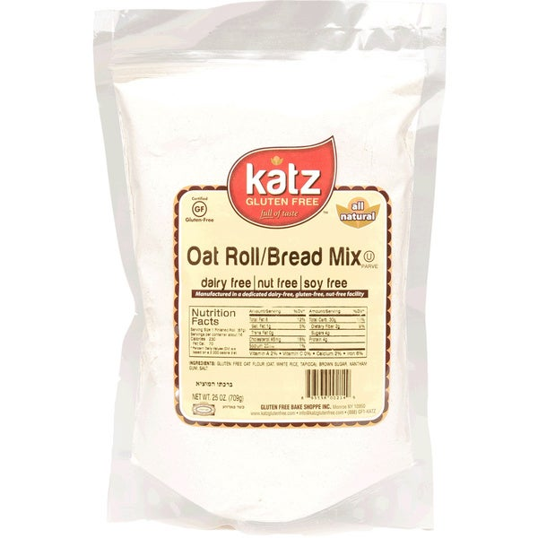 Katz Gluten-free Oat Roll and Bread Mix (2 Pack)