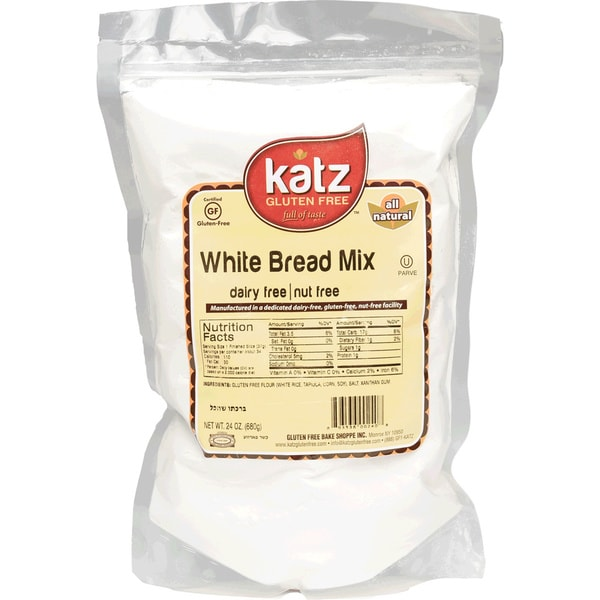 Katz Gluten-free White Bread Mix (2 Pack)