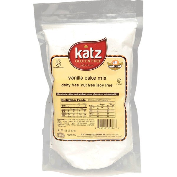 Katz Gluten-free Vanilla Cake Mix (2 Pack)