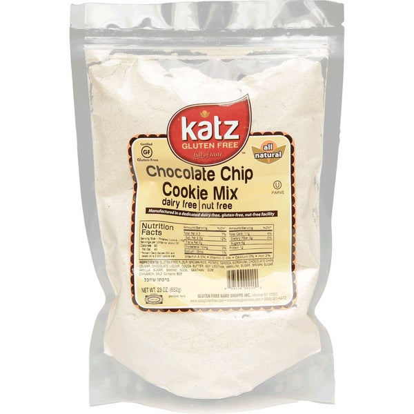 Katz Gluten-free Chocolate Chip Cookie Mix (2 Pack)