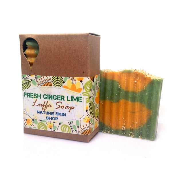 Fresh Ginger Lime Natural Soap