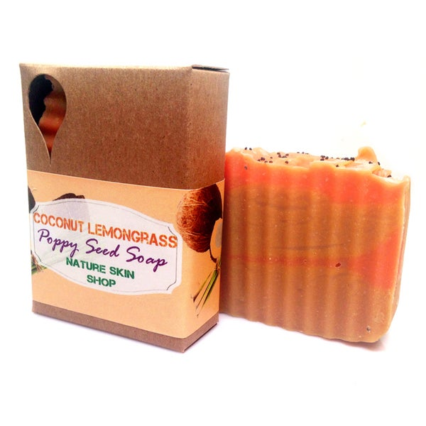 Coconut Lemongrass Natural Soap