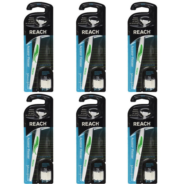 Reach Access Flosser (Pack of 6)