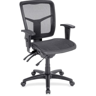 Lorell Mid-back Swivel Mesh Chair