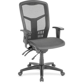 Lorell Executive Mesh High-back Chair