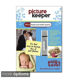 Picture Keeper Plug and Play Photo Backup USB Stick