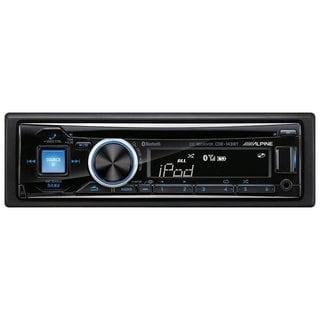 Alpine CDE-143BT Advanced Bluetooth AM/FM/ CD/ USB/ AUX Detachable Faceplate Single DIN Car Receiver