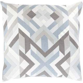Decorative Hetton 22-inch Poly or Down Filled Throw Pillow