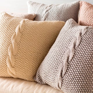 Decorative Glenrothes 22-inch Poly or Down Filled Throw Pillow
