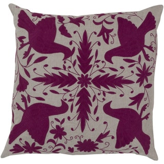 Decorative Calvert 22-inch Poly or Down Filled Throw Pillow