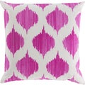 Decorative Edwards 22-inch Poly or Down Filled Throw Pillow