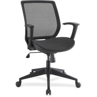 Lorell Mesh/Mesh Executive Mid-back Chair