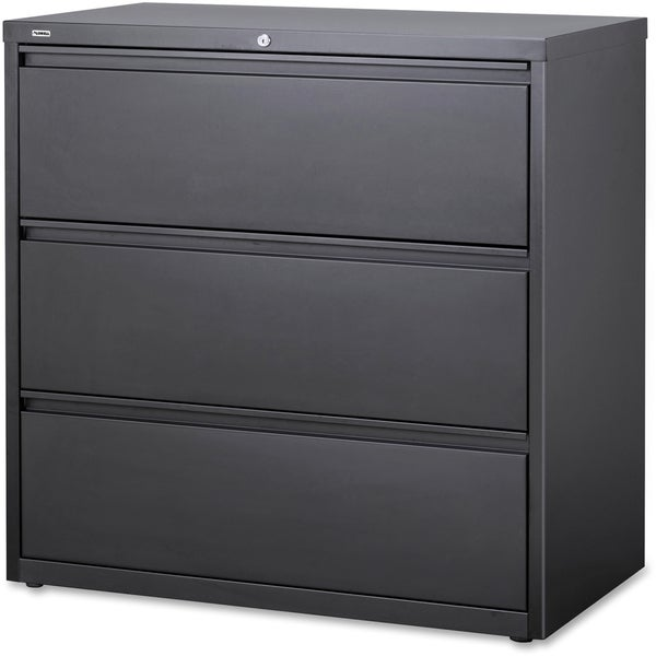 Lorell Charcoal Hanging File Drawer Lateral Files