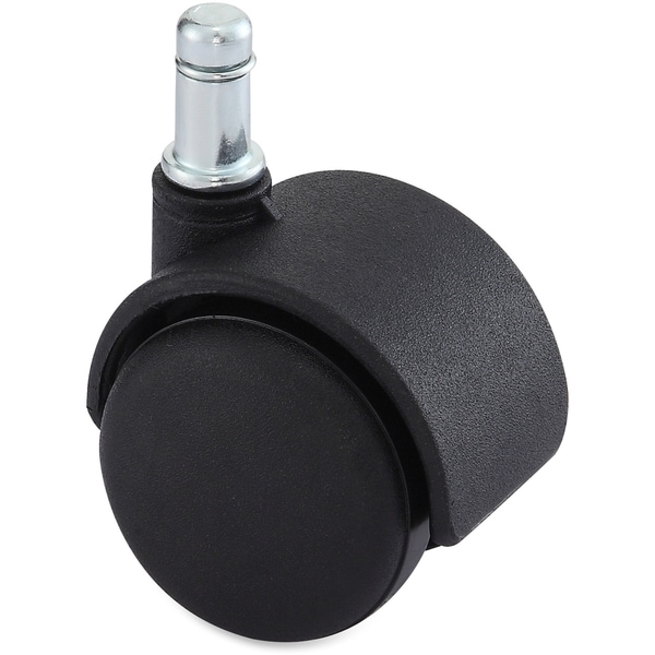 Lorell Hard Wheel B Stem Standard Safety Casters