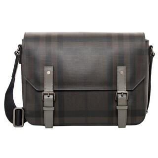 Burberry Small Smoked Check Messenger Bag