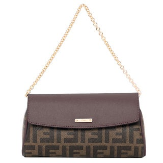 Fendi Tobacco and Dark Brown Zucca Mini Bag