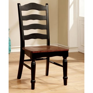 Furniture of America Loretta Country Style Dining Chair (Set of 2)