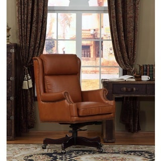 Clinton Lazzaro Leather Office Chair