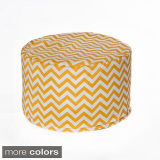 Chateau Designs Chevron Outdoor Beanbag Pouf