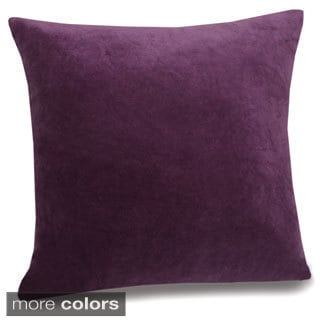 Jovi Home Velletri 17-inch Velvet Pillow Covers (Set of 2)