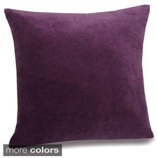 Jovi Home Velletri 17-inch Velvet Pillow Covers (Set of 2)