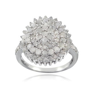 DB Designs Sterling Silver 1ct TDW Diamond Ring (I-J, I2-I3)