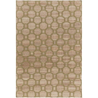 Hand-Woven Jeanne Morrocan Trellis Reversible Rug (8' x 10')