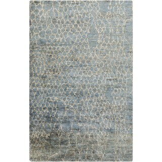 Jill Rosenwald : Hand-Knotted Frances Abstract Jute Rug (3'3 x 5'3)