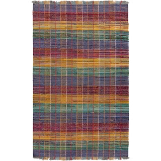 Papilio : Hand-Woven Keira Stripe Reversible Rug (5' x 8')