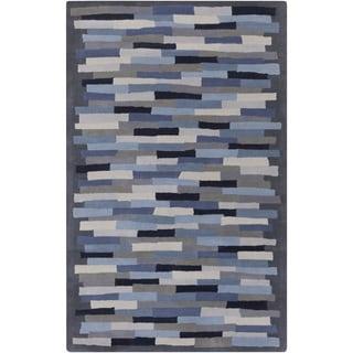 Mike Farrell : Hand-Tufted Amiyah Geometric Wool Rug (2' x 3')